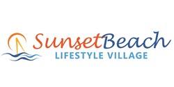 sunset beach village logo